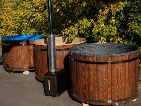 Водогрейная печь для фурако  с дополнительным теплообмеником