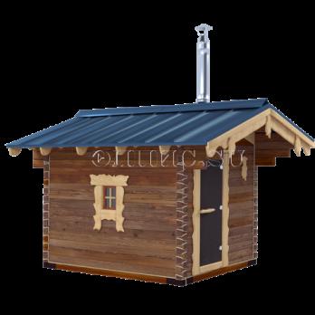Кедровая баня  (брус, мобильная 4.2*3.3)
