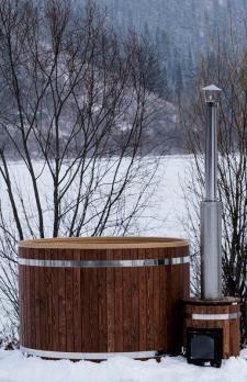 Фурако 1850 мм. Купель с подогревом +крышка